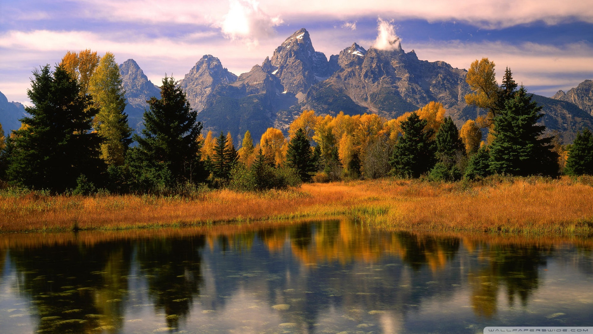 Beautiful Fall Scenery HD desktop wallpaper : Widescreen : High