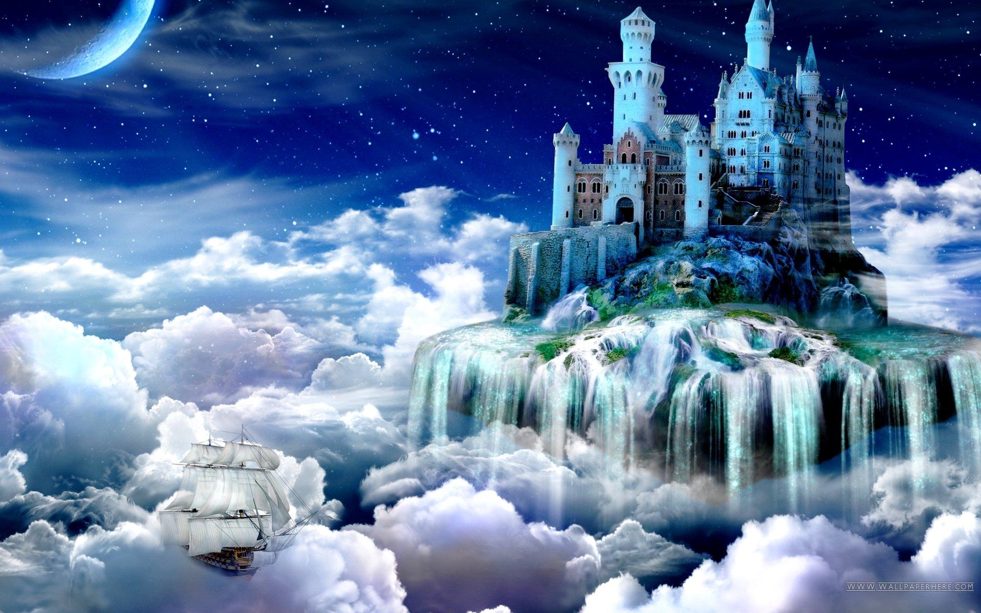 Fantasy Castles Wallpaper