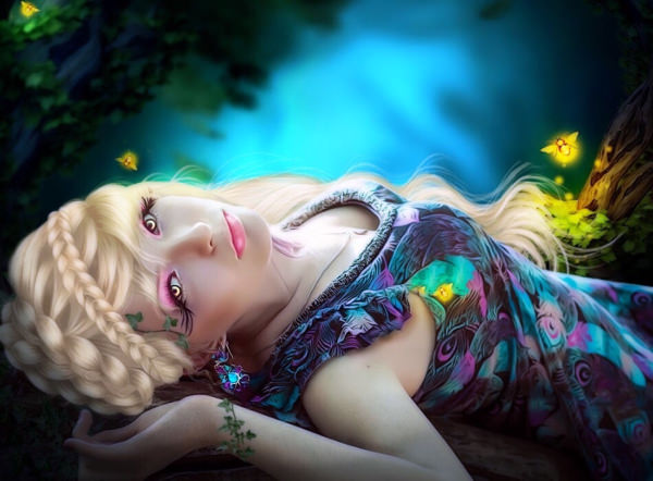 21+ Fantasy Girl Wallpapers, Girl Backgrounds, Images, Pictures