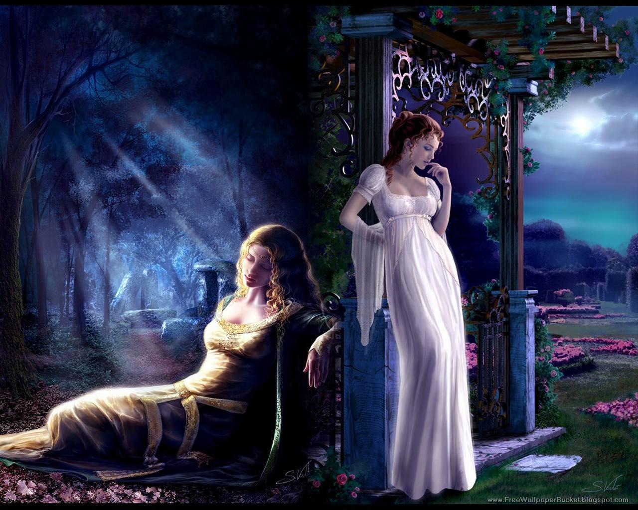 Lindsay: 10 Most Beautiful Fantasy Girls Wallpapers Gallery 03