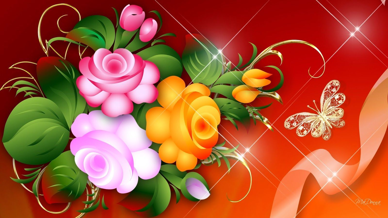Beautiful flowers wallpaper free download - SF Wallpaper