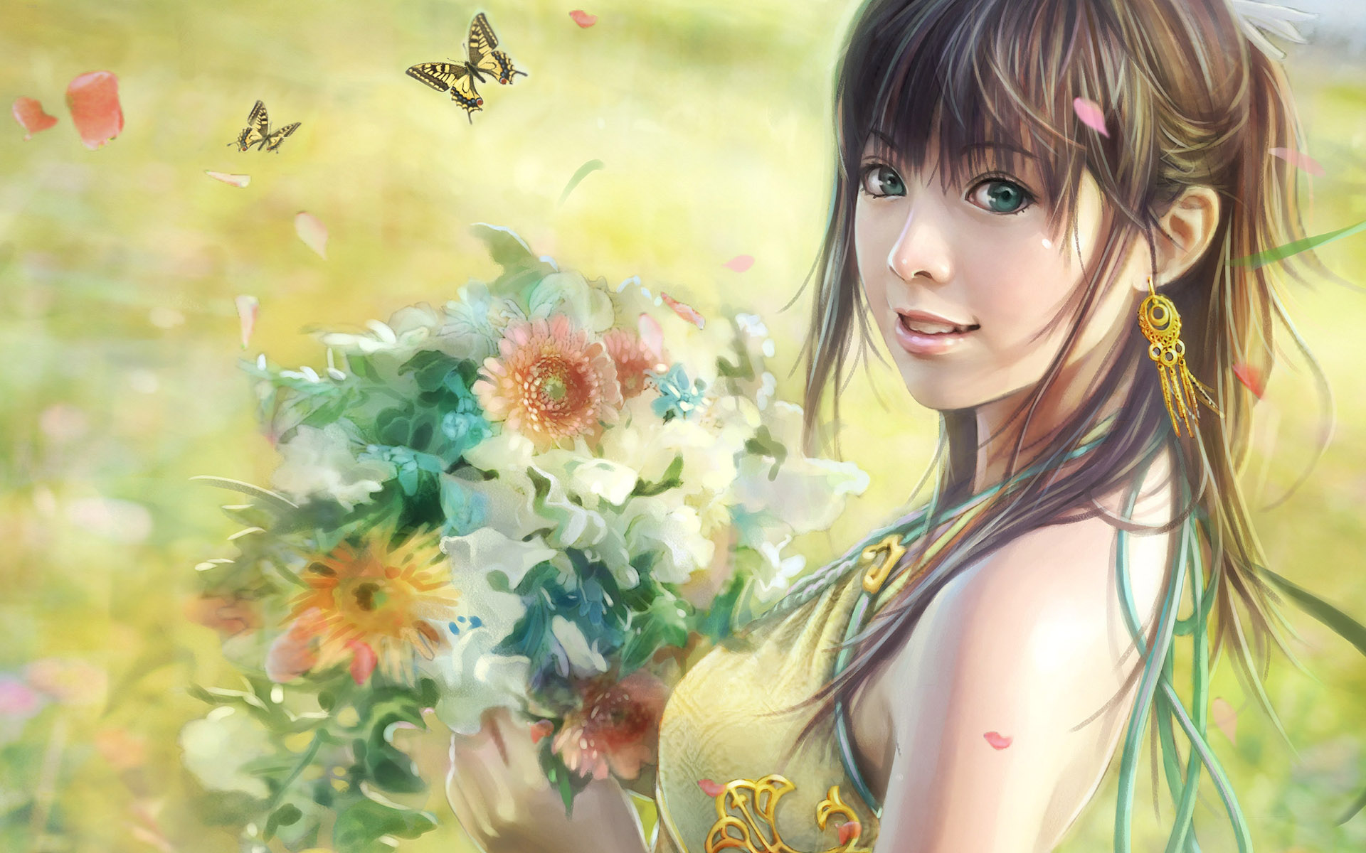 Beautiful Girl Wallpapers ZXV - SH VM Backgrounds Collection