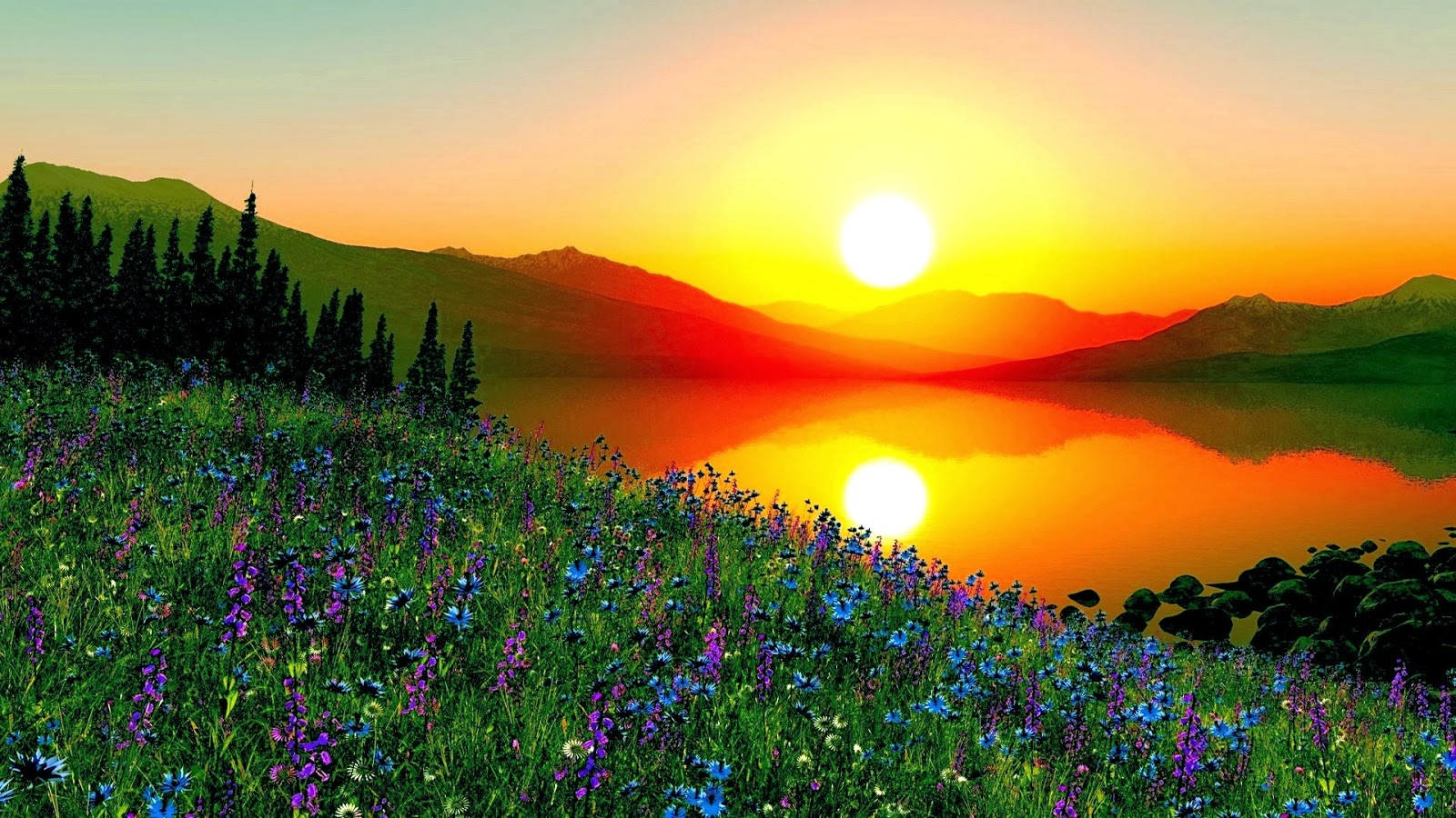 Sunrise Wallpapers | Most beautiful places in the world | Download