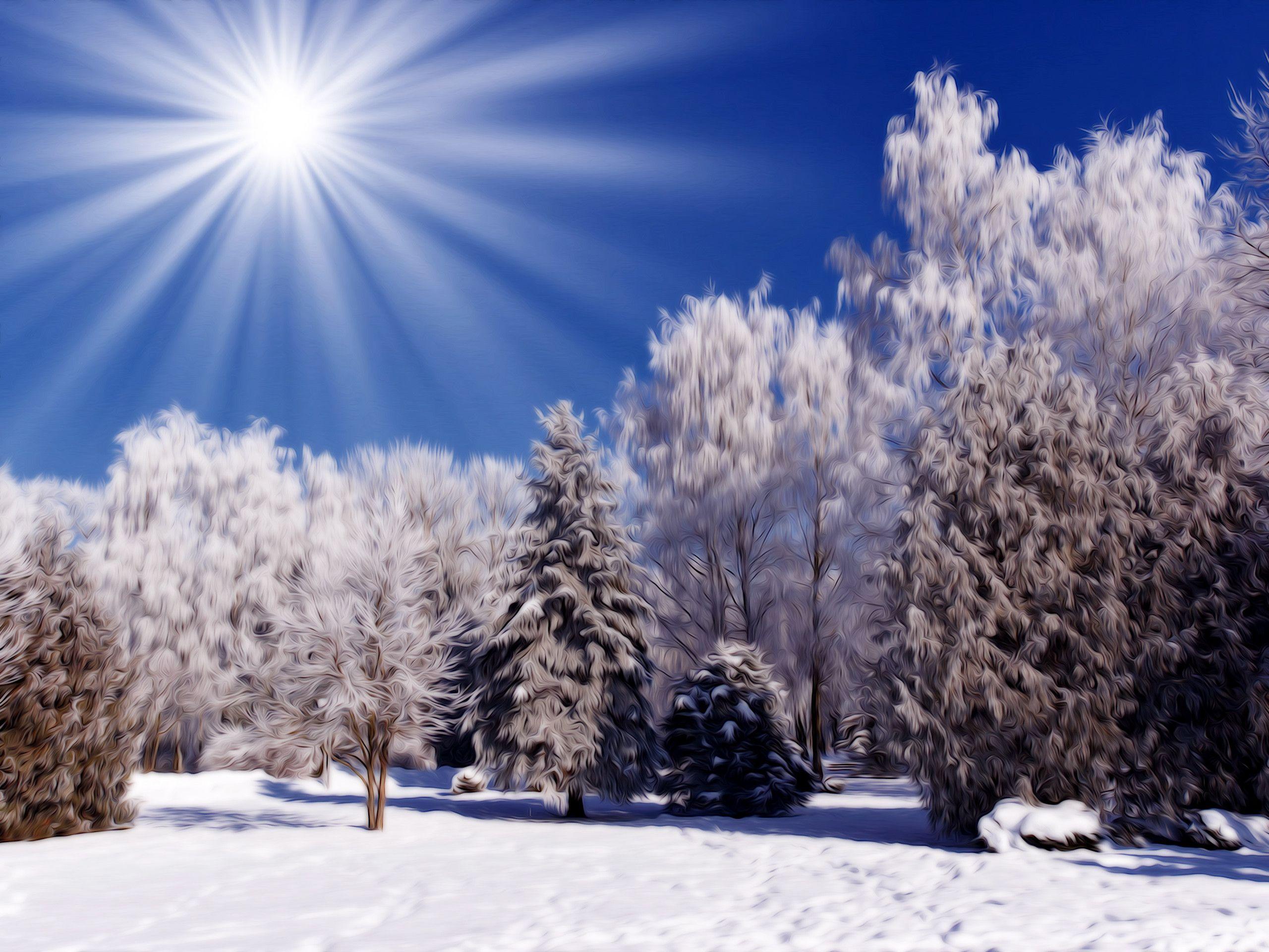 Free Desktop Wallpapers Winter Scenes - Wallpaper Cave