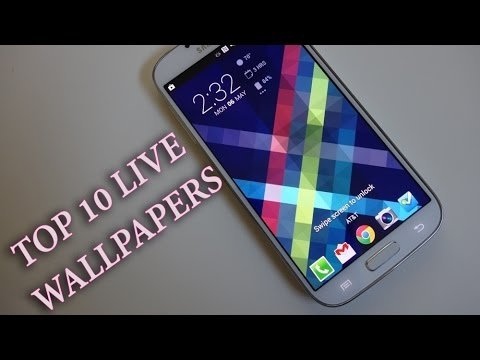 TOP 10 BEST LIVE WALLPAPERS FOR ANDROID 2014 (Free) #2 - YouTube