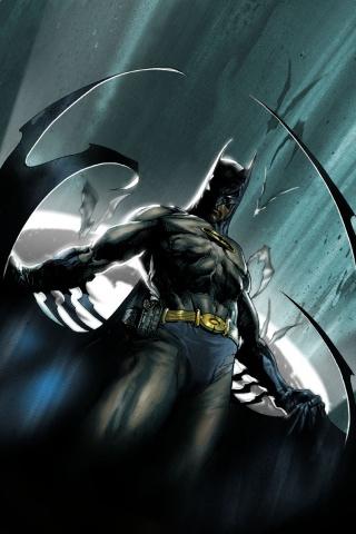 Cool Batman - Cell Phone Wallpaper