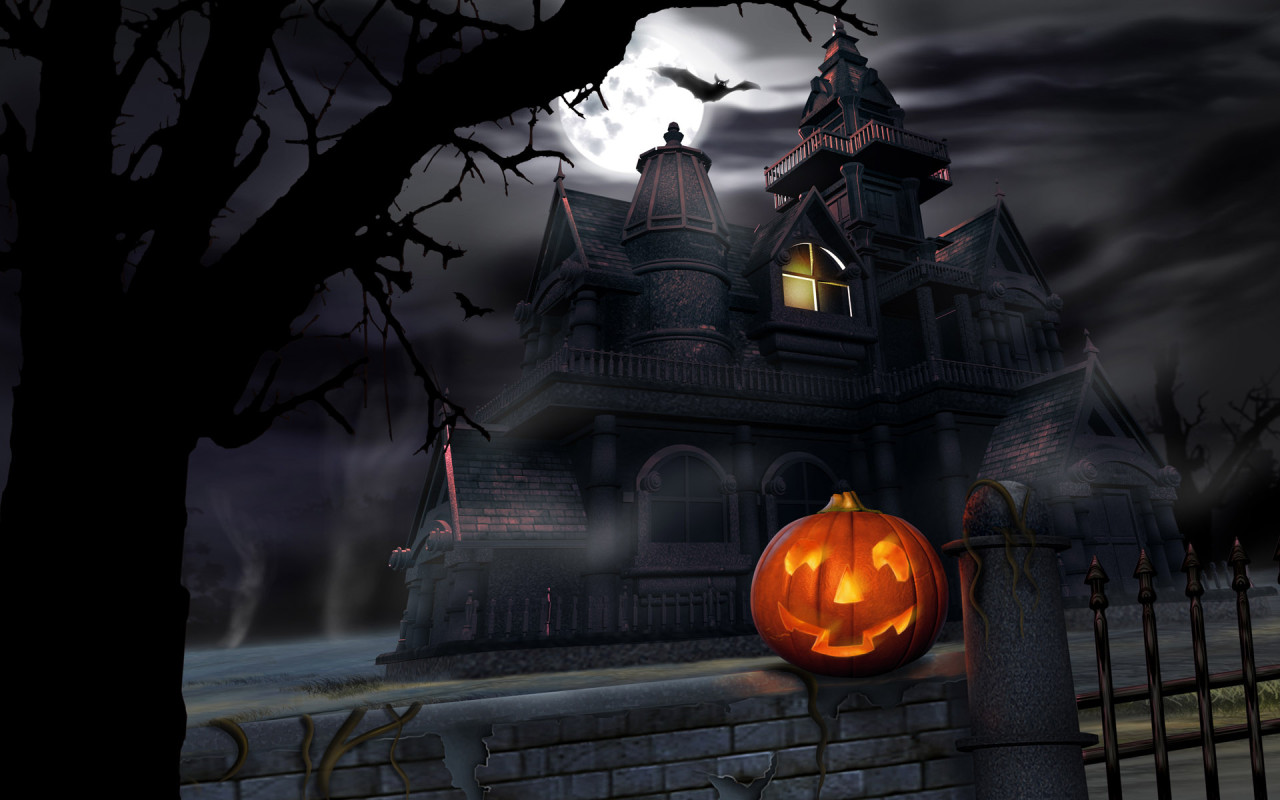 halloween day desktop wallpaper