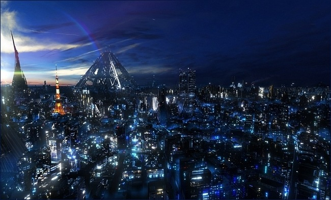 Desktop Fun Sci Fi Cities Wallpaper Collection Series 1