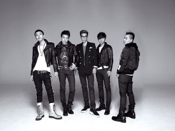 Update Wallpaper Black and Whit BIG BANG HD Wallpaper Korean Kpop