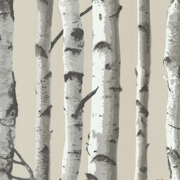 Shop Houzz | Brewster Home Fashions Irvin Gray Birch Tree
