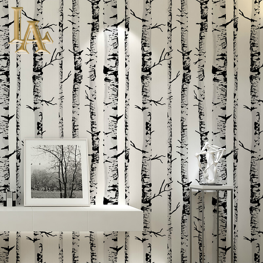 Online Buy Wholesale birch tree wallpaper from China birch tree