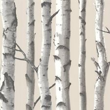 Birch Tree Wallpaper | eBay