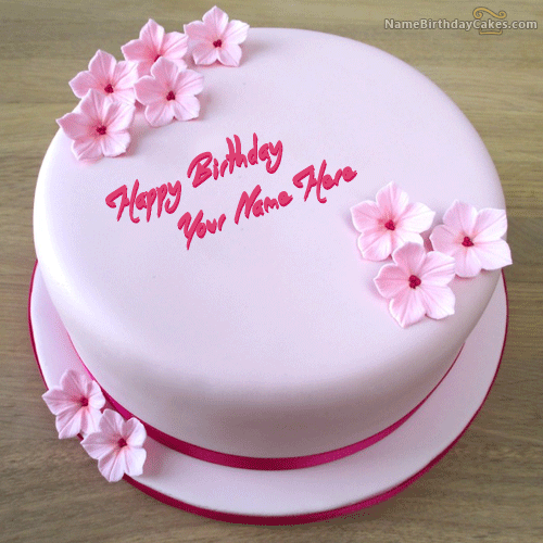 Happy Birthday Cakes With Name Images