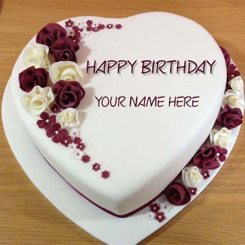 Name On Best Wishes Birthday Cake Online Free