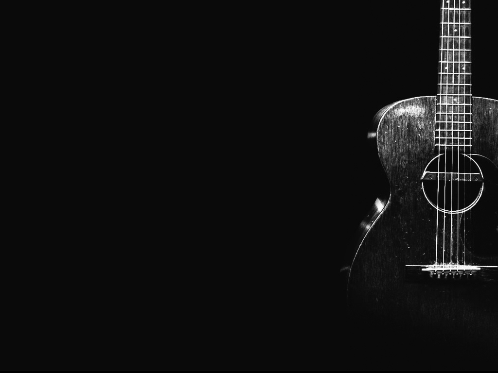 Collection of Black Acoustic Guitar Wallpaper on HDWallpapers