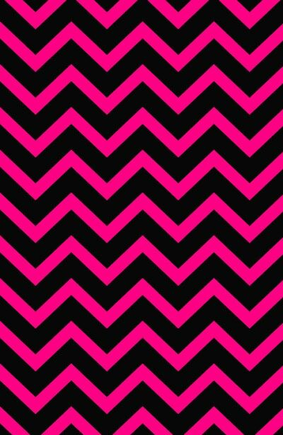 Hot pink and black cheveron wallpaper | cute backgrounds