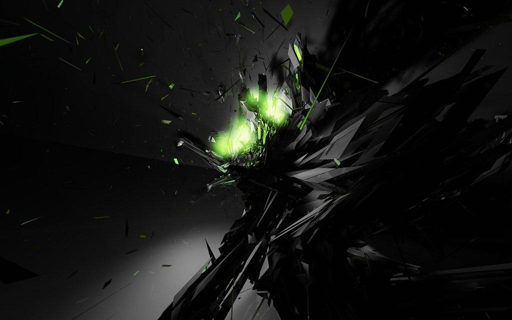 Lime Green and Black Wallpaper - WallpaperSafari