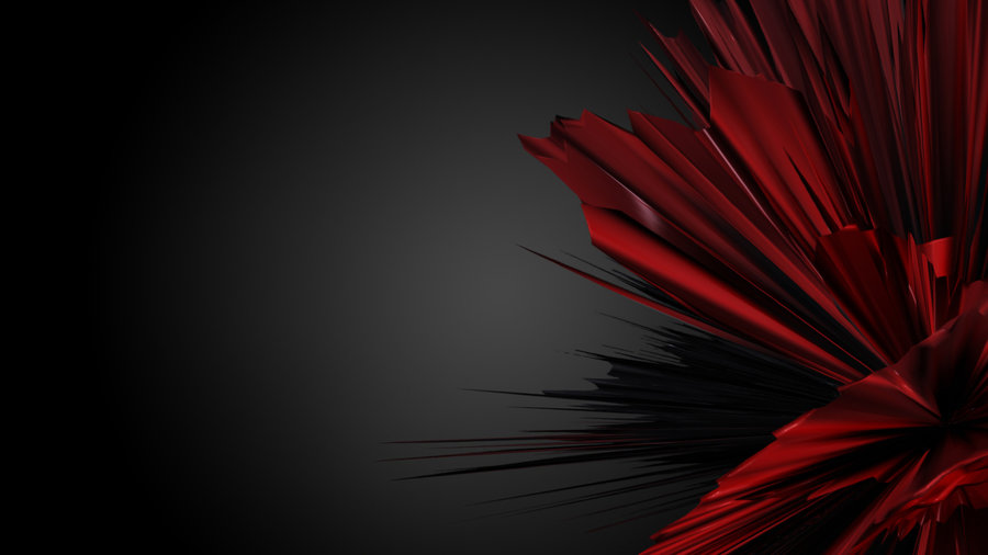 Collection of Black Red Abstract Wallpaper on HDWallpapers
