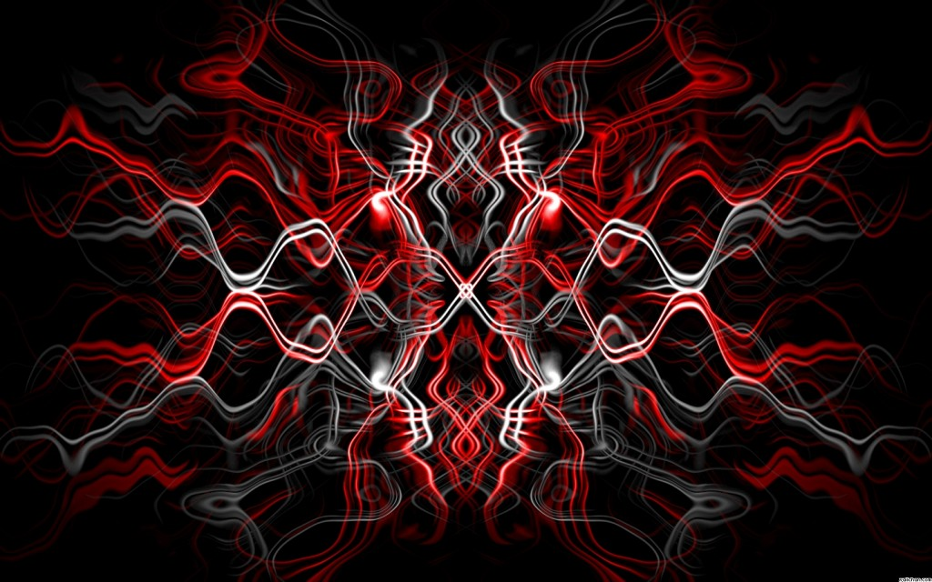 Black And Red Abstract Wallpaper - WallpaperSafari