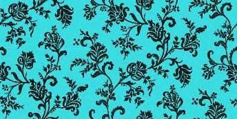 Turquoise Black Floral Design | Wallpaper | Pinterest | Turquoise