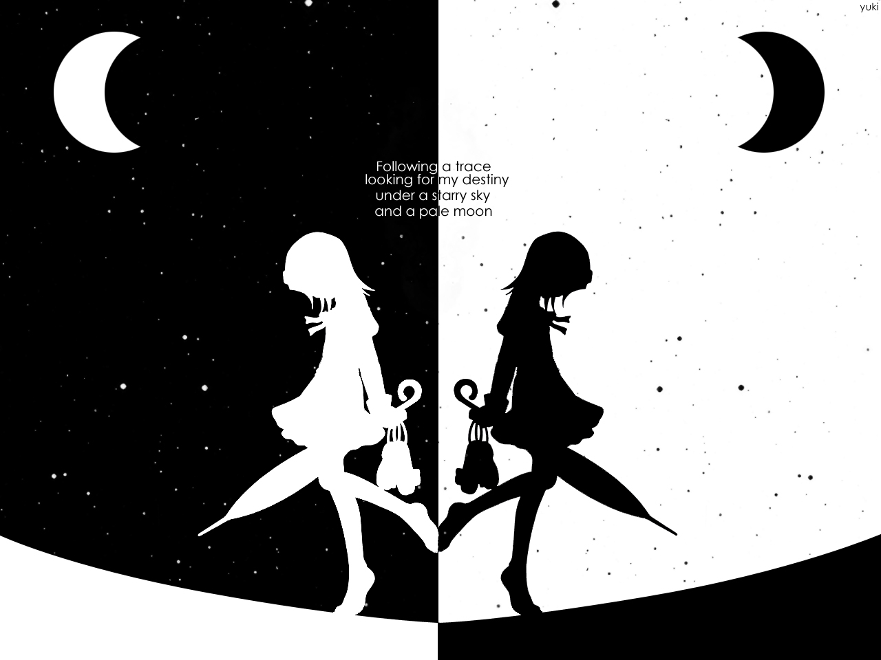 Black And White Anime Wallpaper | ANIME WALLPAPER