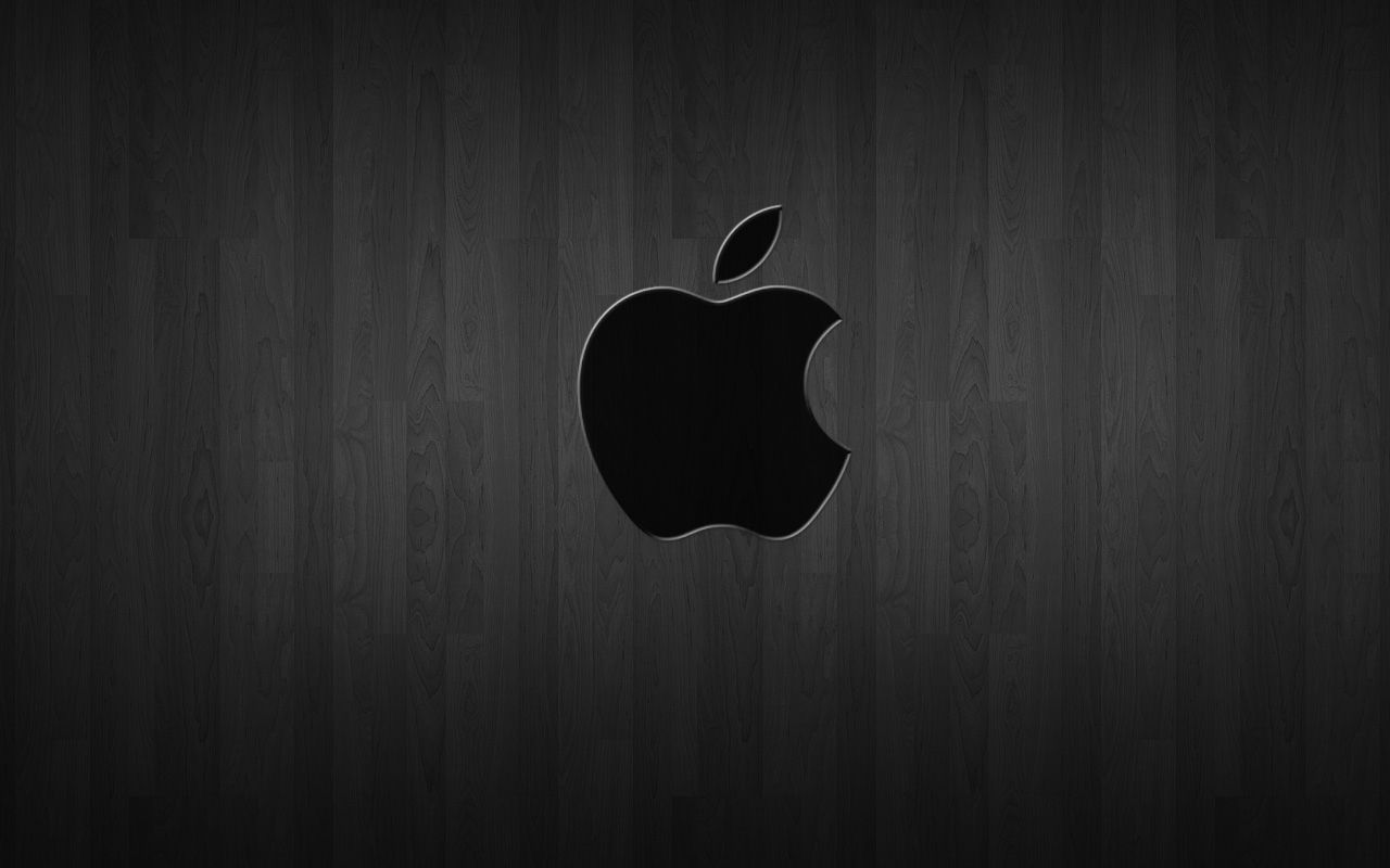 Black And White Apple Wallpapers - Wallpaper Cave