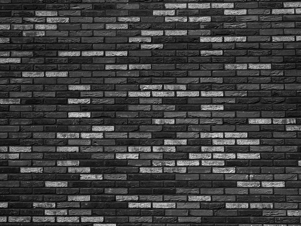 High Resolution Images Collection of Black And White Brick: Hannah