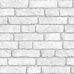 White Brick Wallpaper, Digital Paper Pack, Instant Download