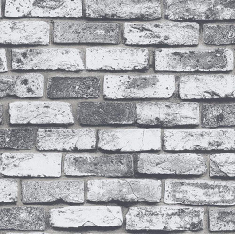 Popular Retro White Brick Wallpaper-Buy Cheap Retro White Brick