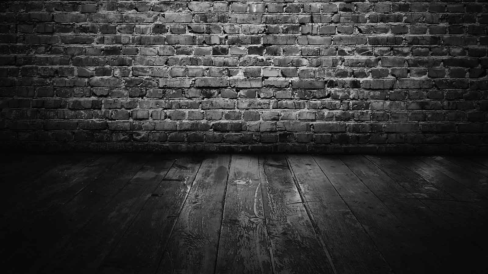 Home Design : Black And White Brick Wallpaper Industrial Expansive