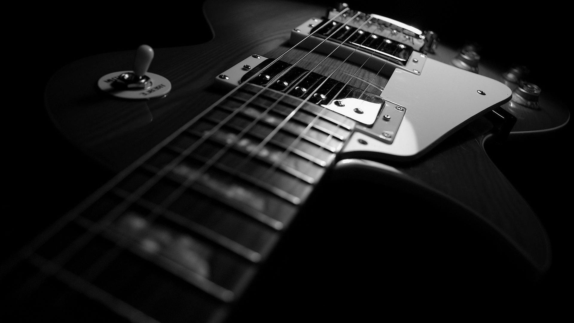 Black And White Guitar Wallpaper Sf Wallpaper