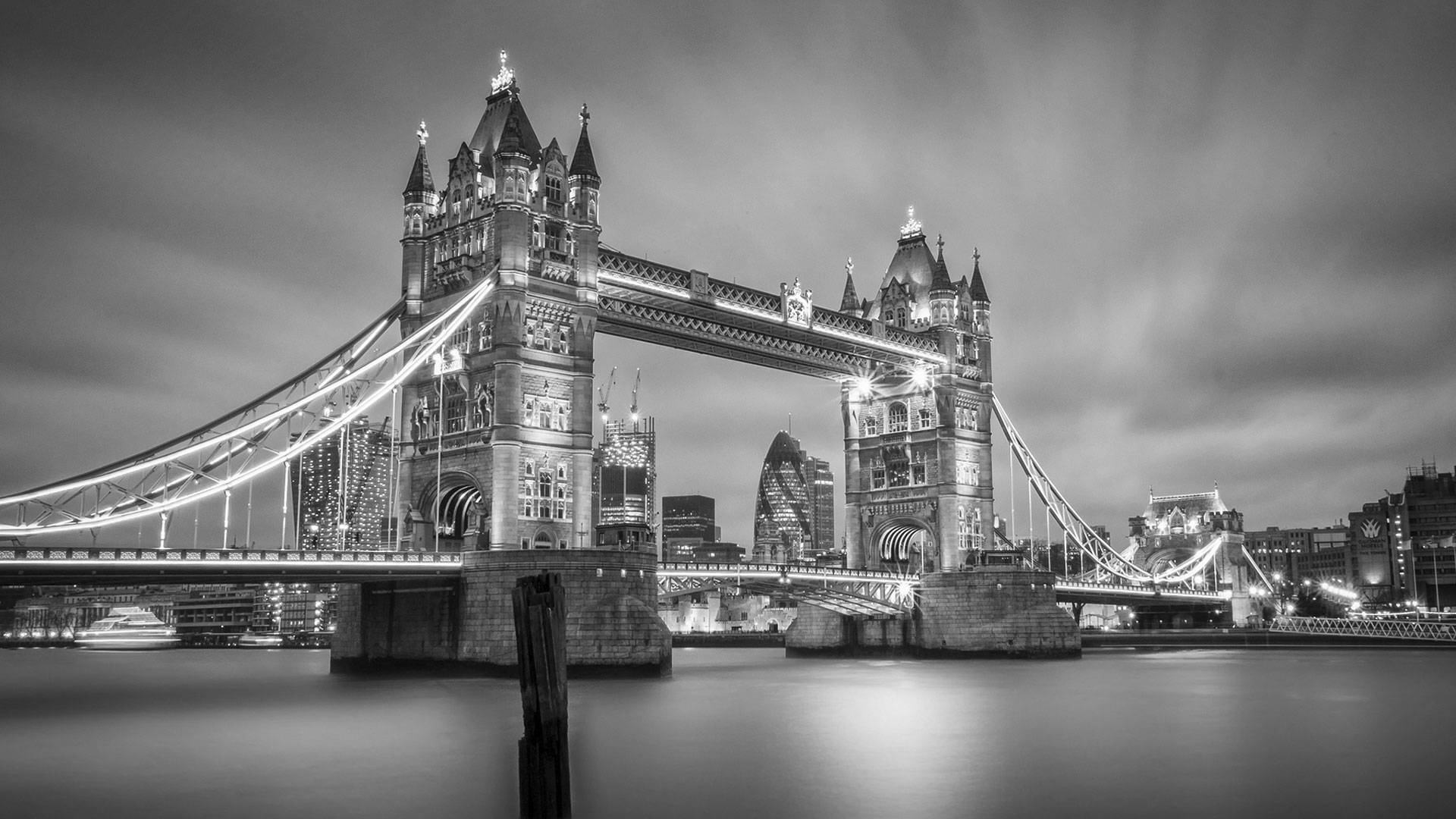 London Black And White Wallpapers Desktop - Obaasima com