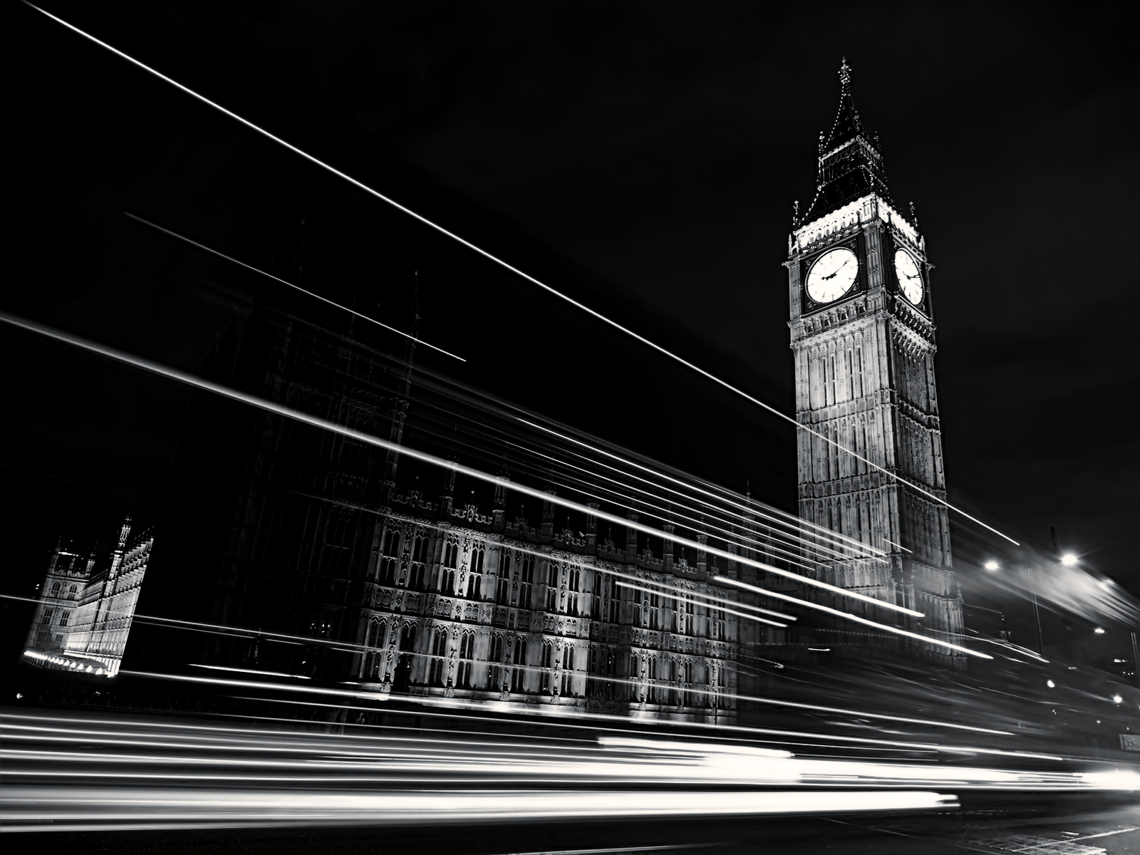 Black and White London Clock Tower wallpaper – Romney Gives