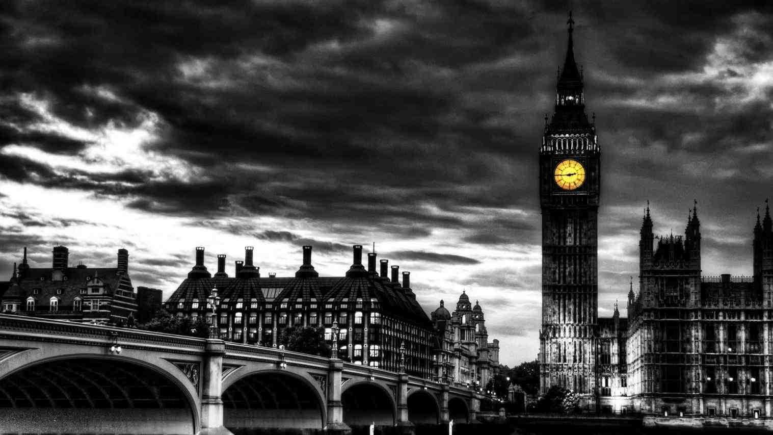 London Black And White Wallpapers - WallpaperPulse