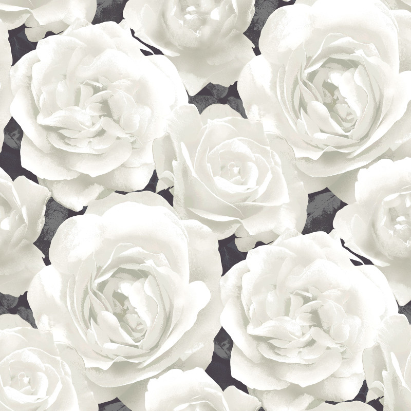 Black And White Rose Wallpaper - WallpaperSafari