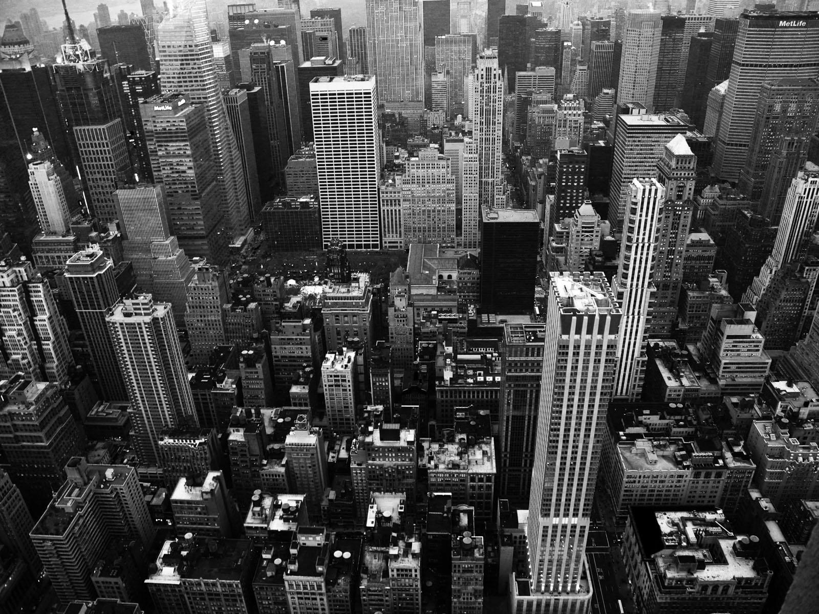 NYC Black and White Wallpaper - WallpaperSafari