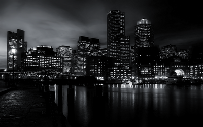 Collection of Black And White Skyline Wallpaper on HDWallpapers