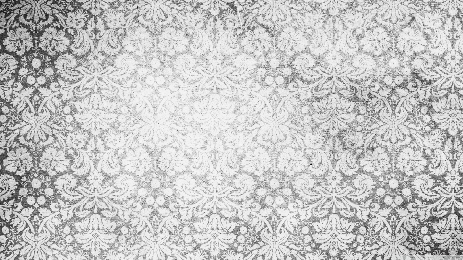 Vintage Pattern Black And White HD desktop wallpaper : High