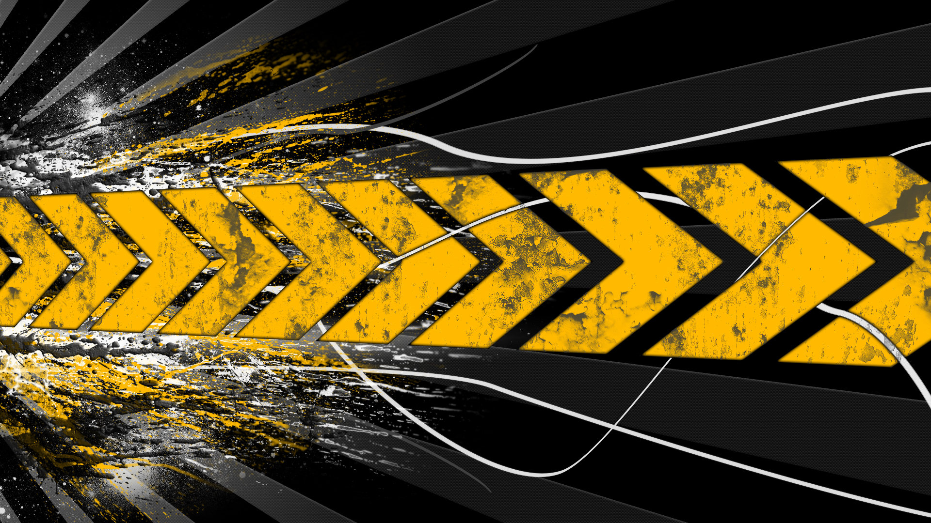 Black And Yellow Wallpapers Sf Wallpaper