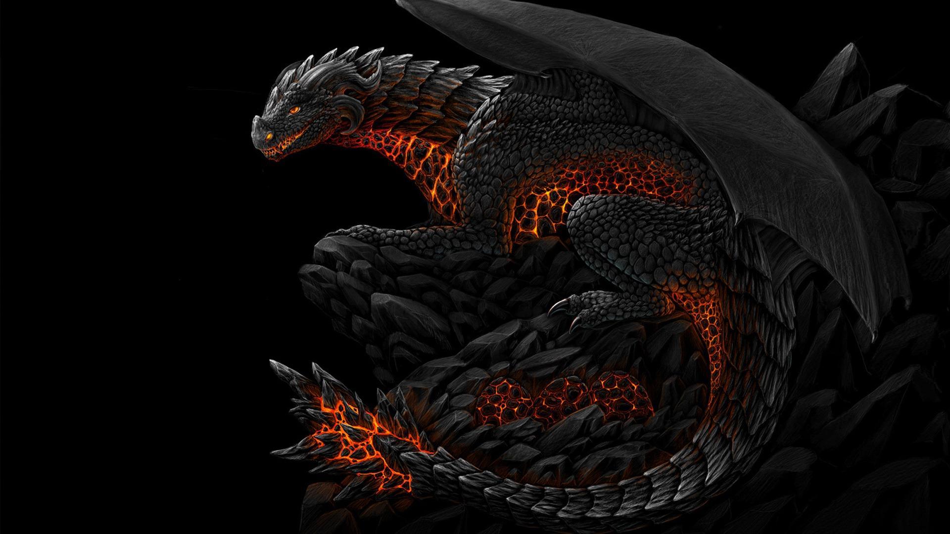 Black Dragon Wallpapers