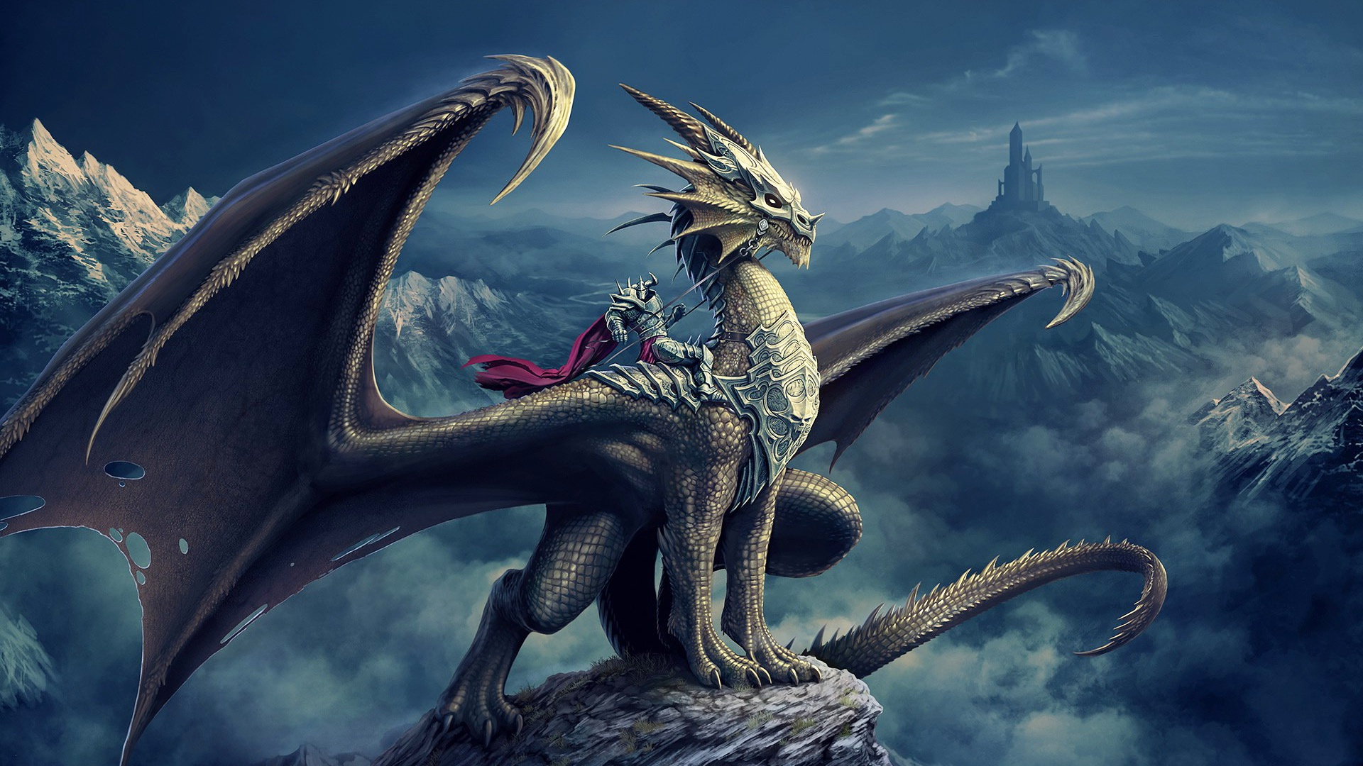 Black Dragon Wallpaper HD