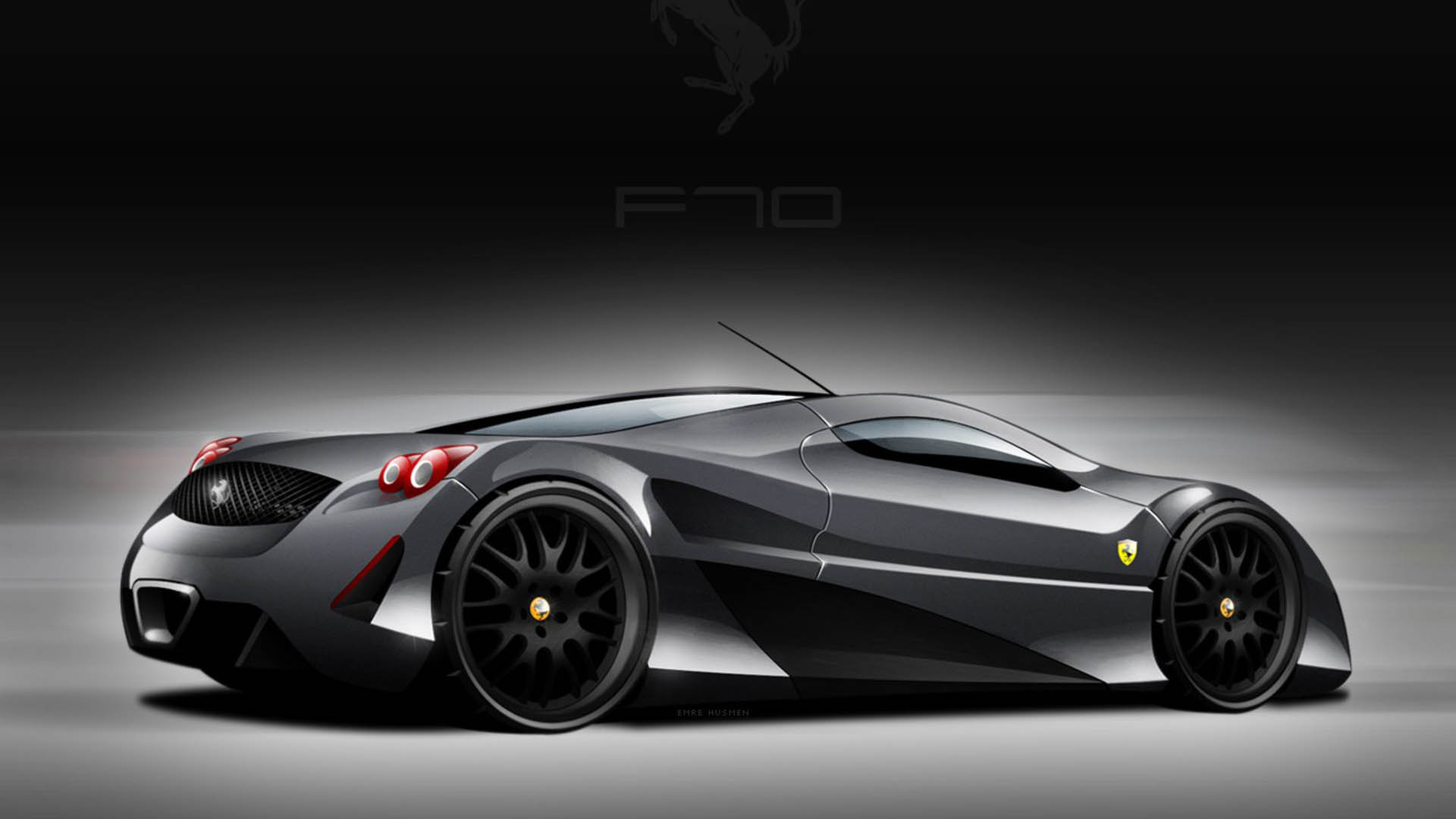 black ferrari cars wallpapers - sf wallpaper