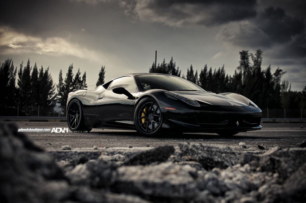 Black Ferrari Wallpapers Sf Wallpaper