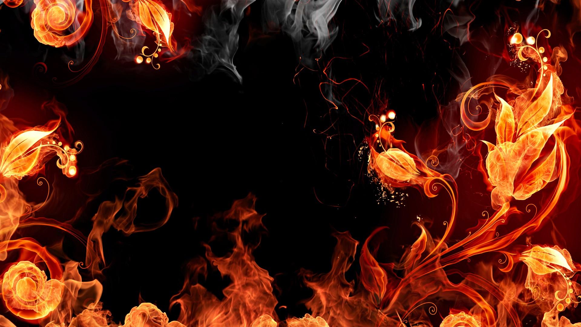 Fire black background wallpaper | 1920x1080 | 193234 | WallpaperUP