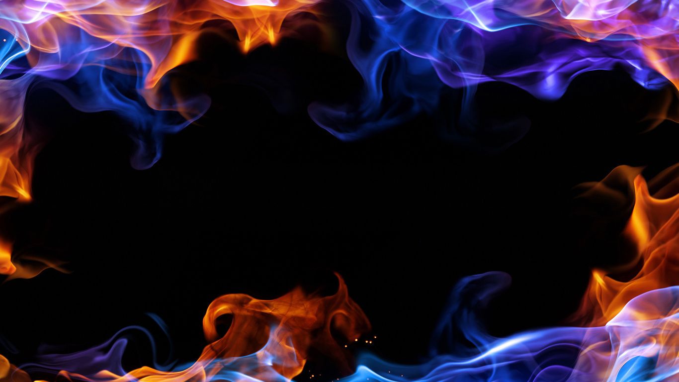 Blue Flames Wallpapers Group 59