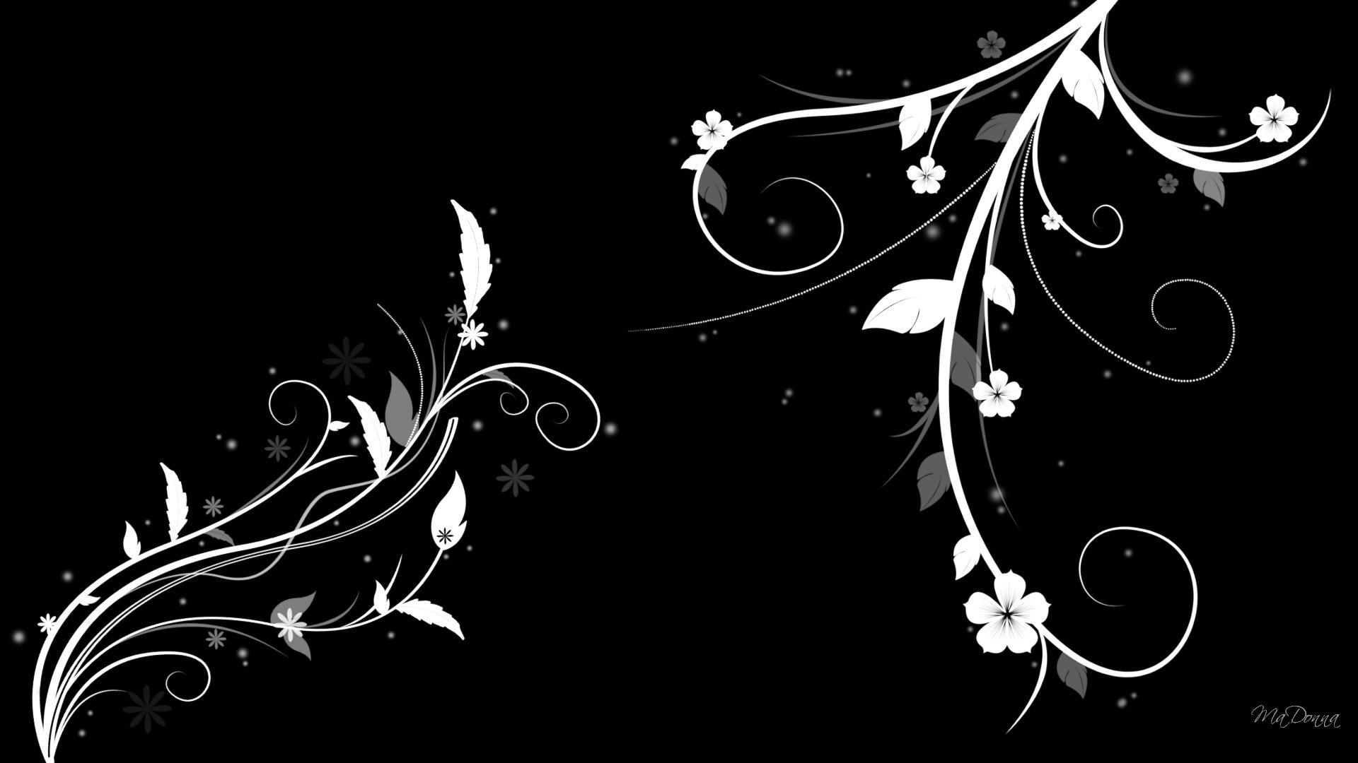 Black Flower Wallpapers Sf Wallpaper