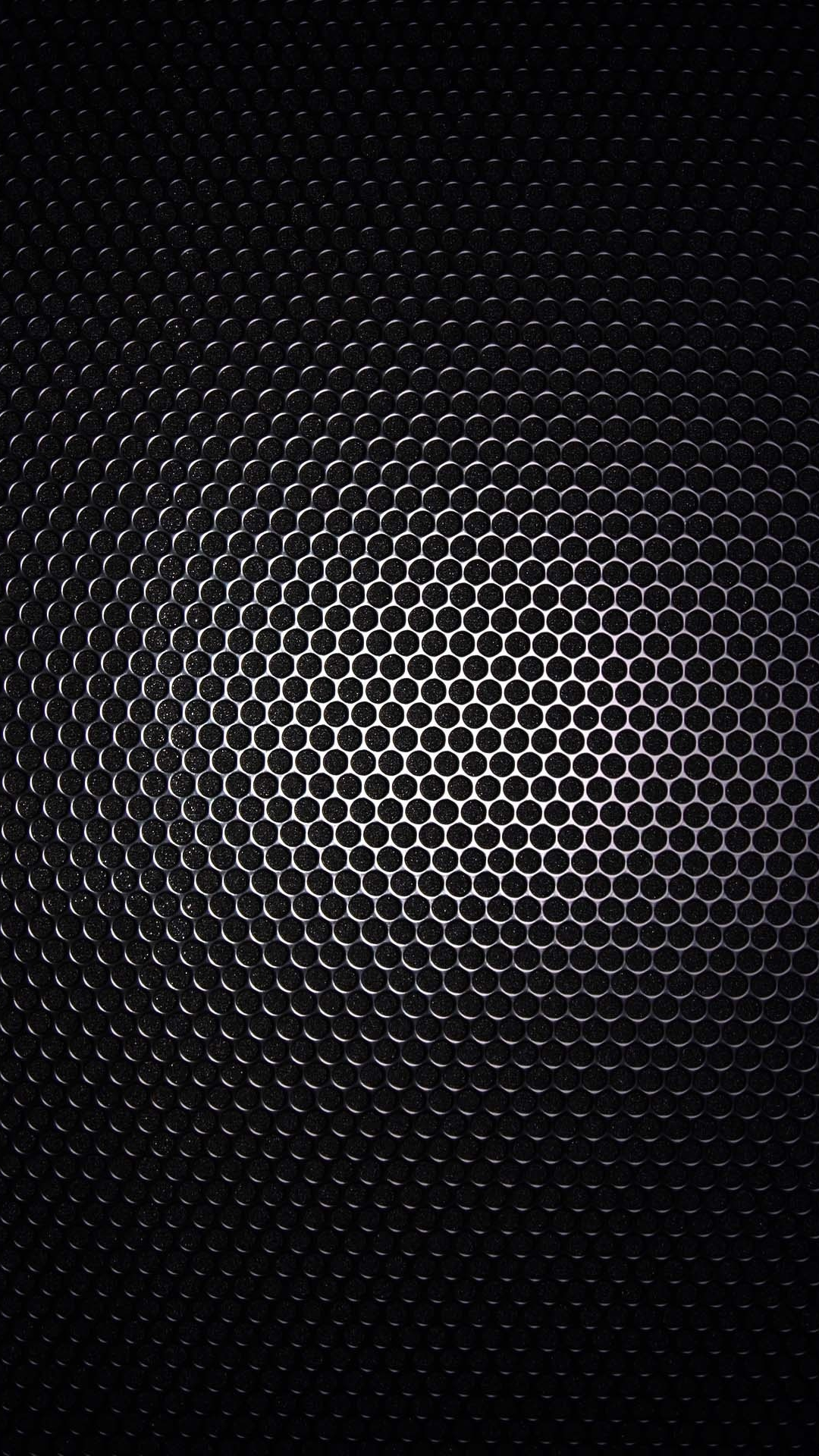 Wallpapers for Galaxy - Black Gradient Metal Grid