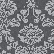 Black and Grey Wallpaper | Wallpaper & Paste | wilko com