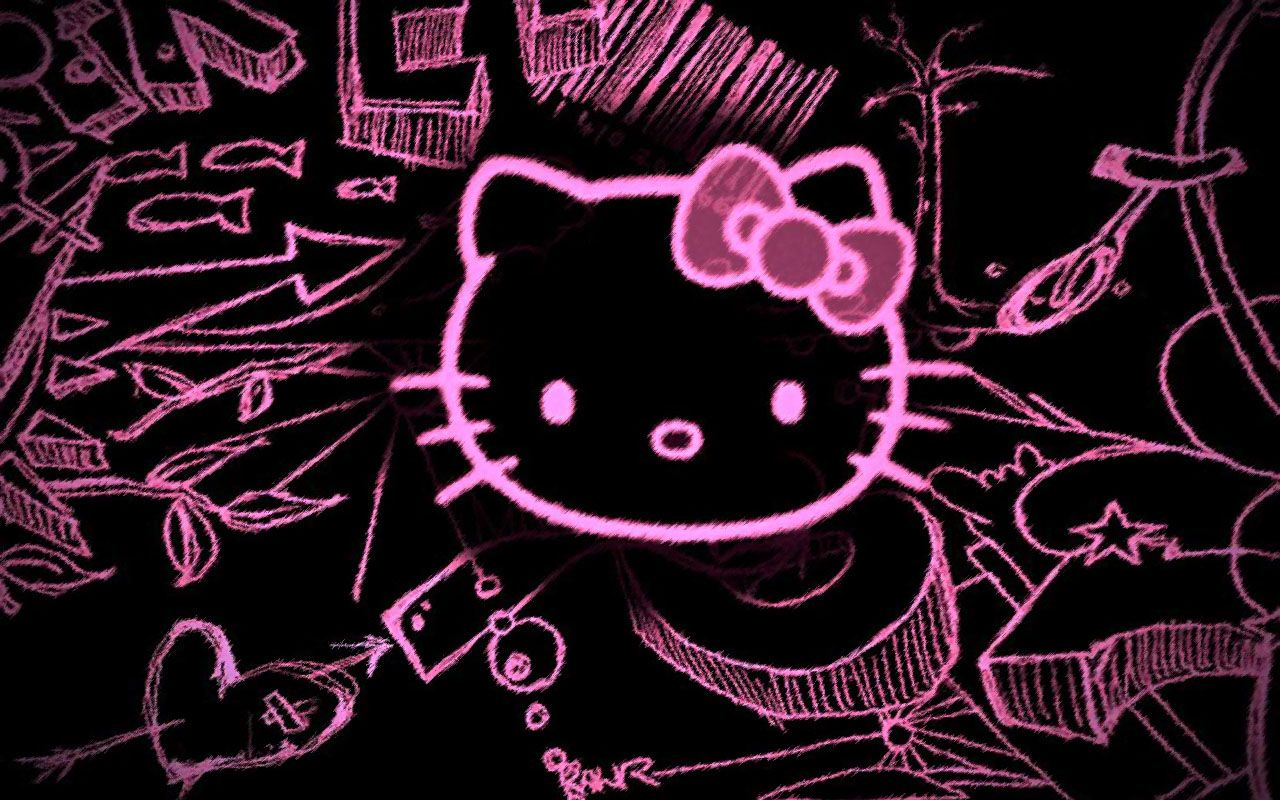Pink Hello Kitty Wallpapers Group (62+)