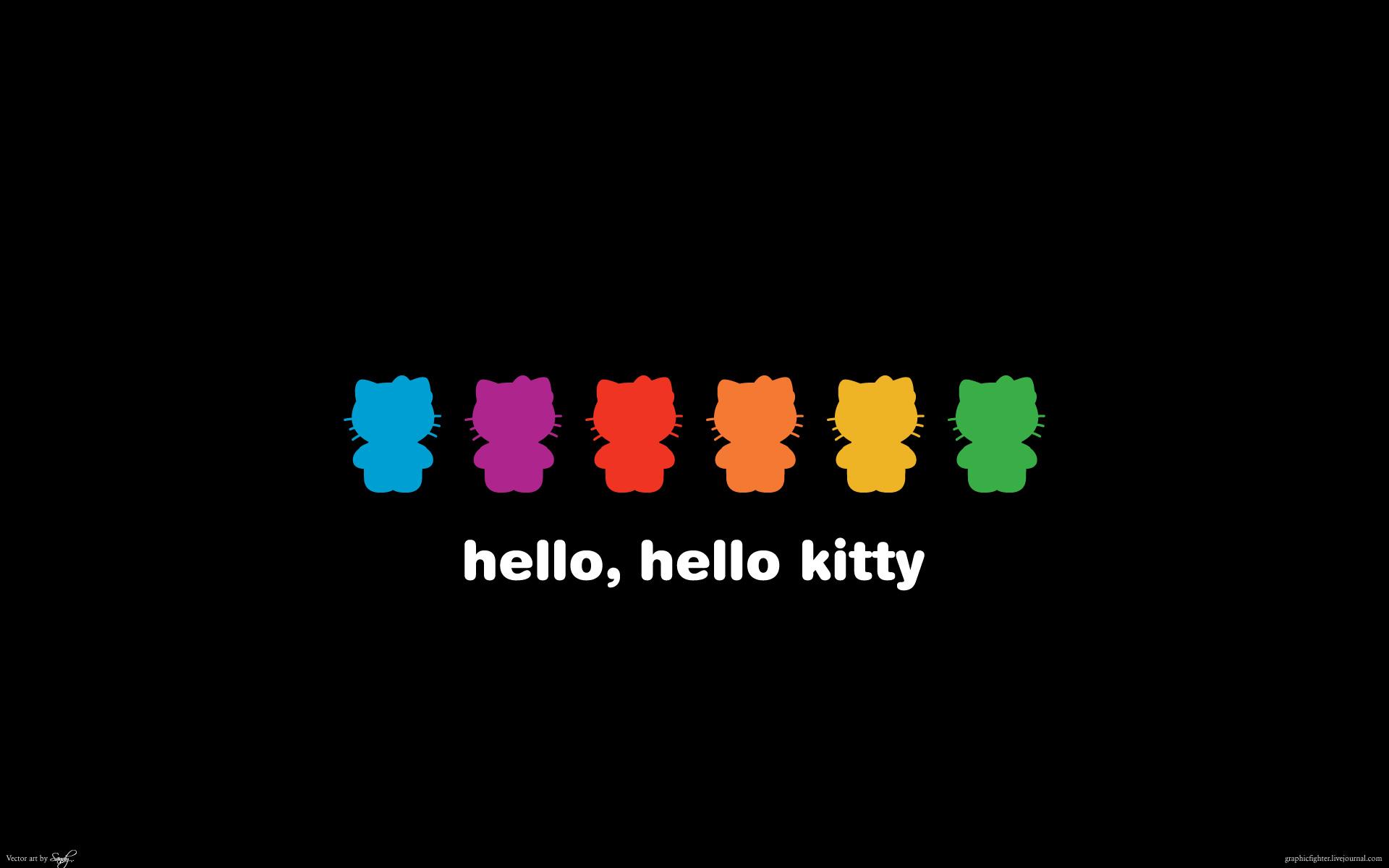 Wonderful Wallpaper Hello Kitty Cheetah - black-hello-kitty-wallpaper-7  Pic_52151.jpg